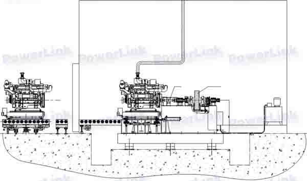 Engine Stand for Assembly schematic diagram A