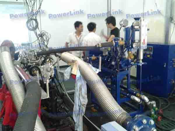 Thermal Testing Engine Test Bench